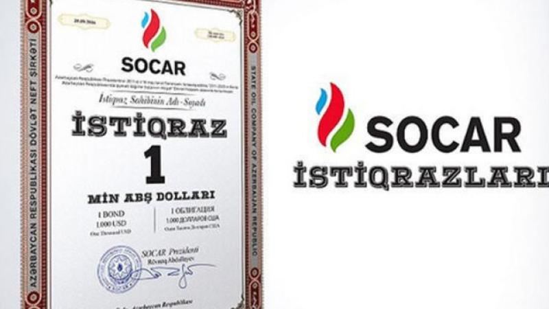 SOCAR istiqrazları 1025 dollara qalxdı
