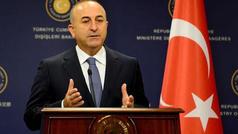 """""""Bu işlər kovboy filmi…"""" - Çavuşoğludan Trampa CAVAB"""