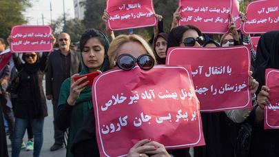 İran baharı başlandı: SEPAH qərargahı yandırıldı, onlarla yaralı var - HÖKUMƏT HƏYƏCANDA