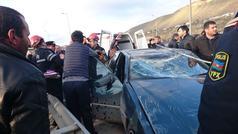 Bayram günləri yol qəzalarında 10 nəfər öldü