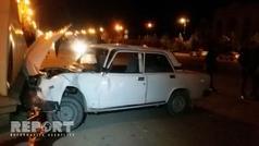 Bərdədə ağır yol qəzası - 5-i uşaq olmaqla 8 nəfər yaralandı