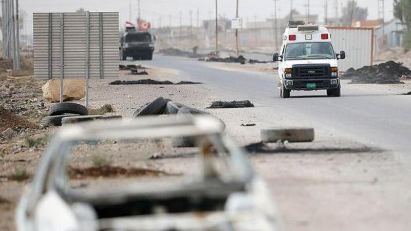 Mosulda terakt: 14 polis öldürüldü