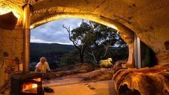 Mağaradan malikanə düzəltdi - Bir gecə üçün 950 dollar kirayə pulu alır - FOTOLAR
