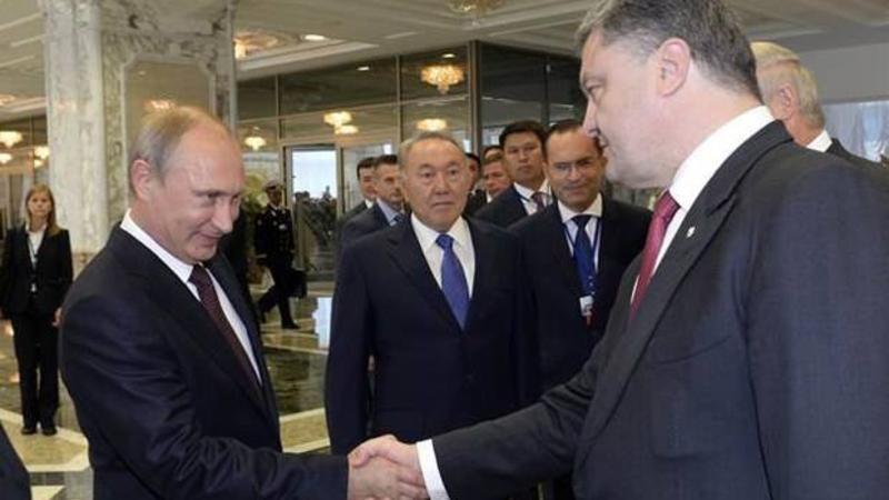 Putin Poroşenkonun zənginə CAVAB VERMƏDİ