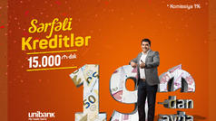 Unibank sərfəli yay kreditləri təklif edir