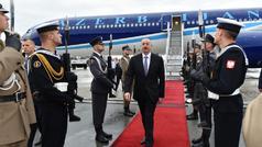 Azərbaycan prezidenti Polşada rəsmi səfərdədir