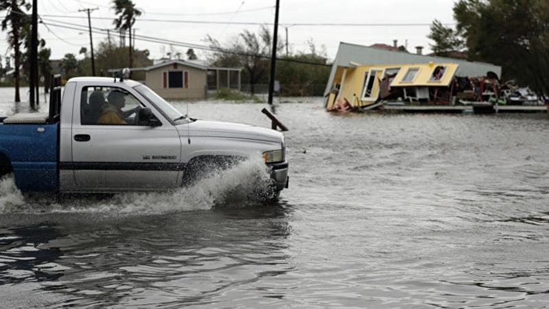 ABŞ-da böyük şəhər su altında qaldı