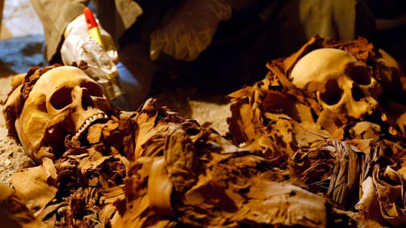 3500 il yaşı olan mumiya tapıldı - VİDEO
