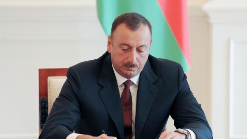 Prezident Olimpiya oyunları ilə bağlı sərəncam imzaladı
