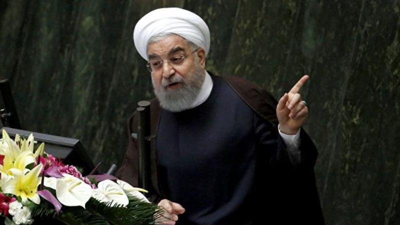 """Ruhani: """"ABŞ razılaşmaları pozur, özünə qarşı etimadı sarsıdır"""""""