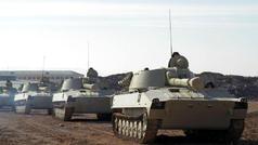 Naxçıvanda tanklar hərəkətə gətirildi, helikopterlər havaya qaldırıldı - VİDEO - FOTOLAR