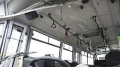 Bakıda sərnişin avtobusu qəzaya uğradı