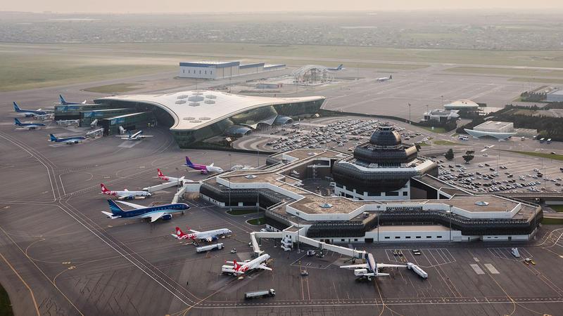 Heydər Əliyev Aeroportunu ilk dəfə belə GÖRƏCƏKSİNİZ - FOTO