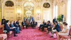 Prezident İlham Əliyev Parisdə bir sıra görüşlər keçirib - YENİLƏNDİ