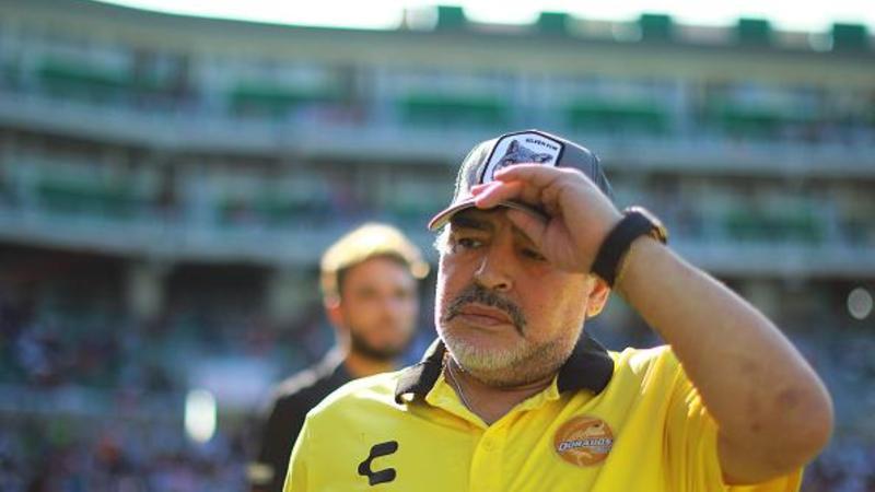 Maradona xəstədir