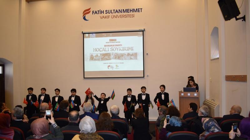 Xocalı soyqırımının ildönümü İstanbulda qeyd edilidi