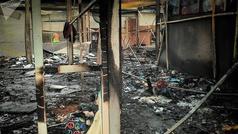 Rusiyada bazar yandı