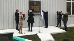 Moskvada Heydər Əliyevin xatirə lövhəsi açıldı - VİDEO