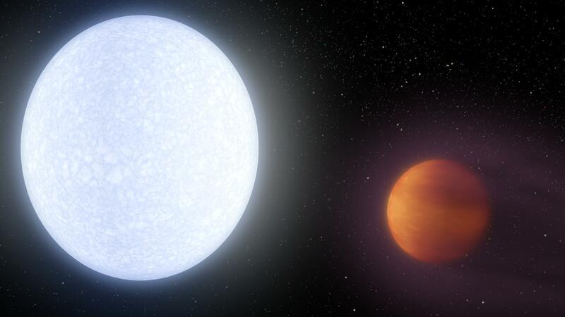 Bu planetin istiliyi hidrogen molekullarını parçalayacaq səviyyədədir - FOTO