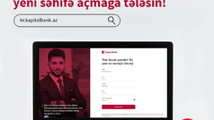 Kapital Bank-da işləmək istəyənlər üçün yeni portal yaradıldı - FOTO