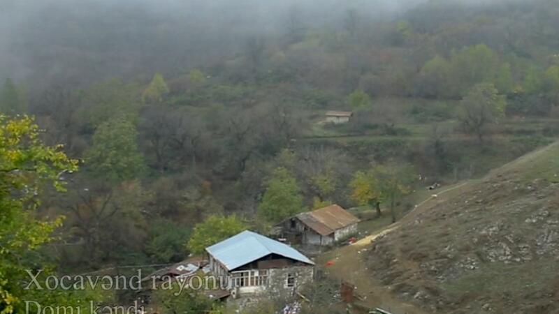 Xocavəndin işğaldan azad olunan Domi kəndinin GÖRÜNTÜLƏRİ