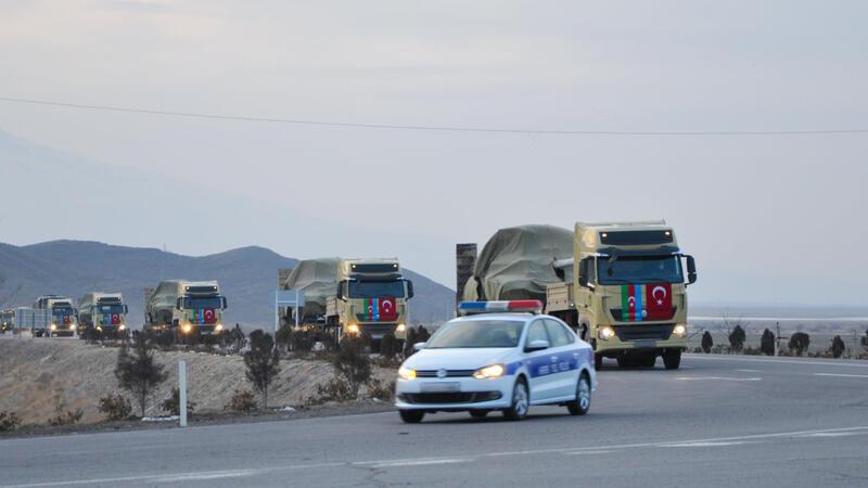 Hərbçilərimiz Türkiyədən geri qayıtdı - FOTO