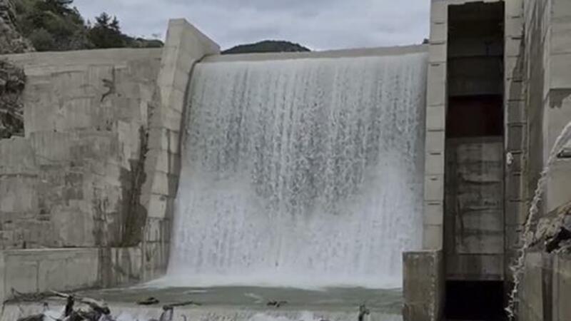 Laçın Su Elektrik Stansiyasının işi bərpa edildi