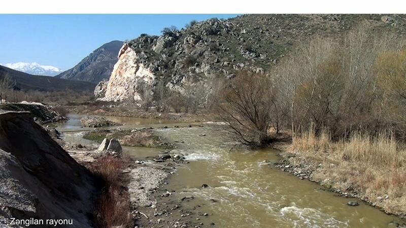 Zəngilan rayonunun Sarıqışlaq kəndi - VİDEO