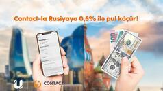 """""""Unibank""""ın mobil əlavəsindən """"Contact""""la pul köçürmək çox sərfəlidir"""