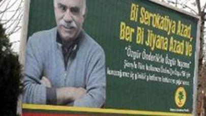 Ocalanın afişaları ilk dəfə Türkiyə küçələrində