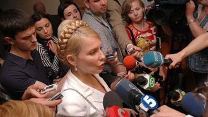 Yuliya Timoşenko azadlığa çıxdı