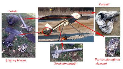 Ermənistanın məhv edilən pilotsuz aparatının tipi açıqlandı - FOTO
